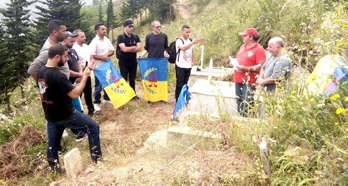Hommage à la dernière victime du printemps noir par la Coordination MAK-Anavad de Tizi n Berber