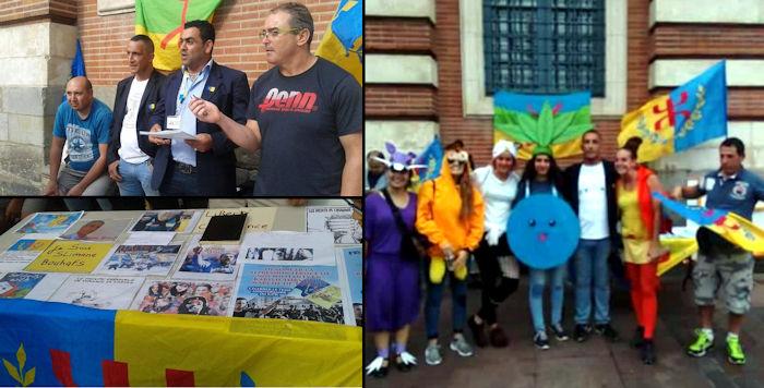 Rassemblement de Toulouse : un moment d'échange avec des curieux de toutes origines
