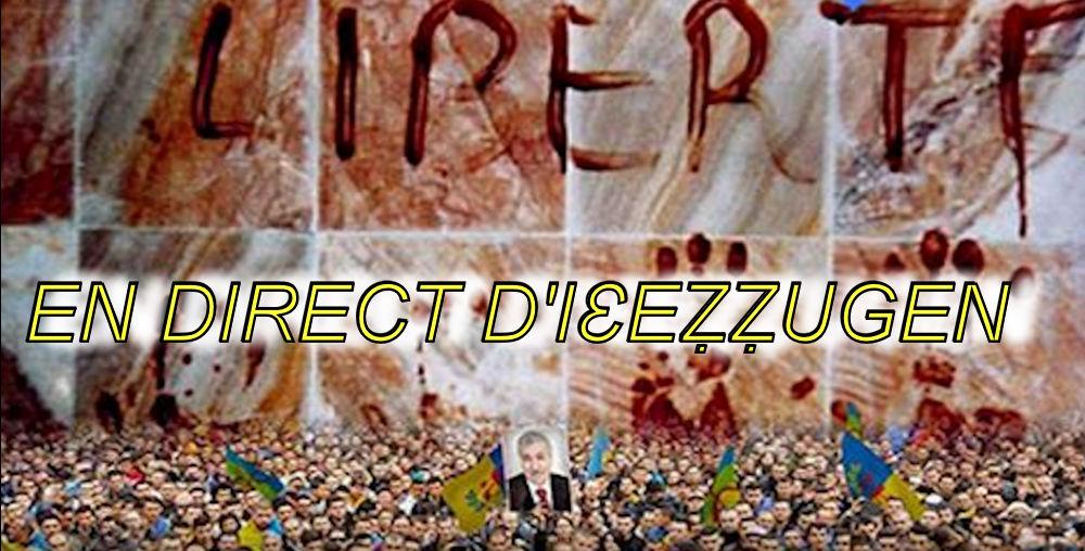 En direct du rassemblement d'Iɛeẓẓugen organisé à l'occasion de la Journée de la Nation Kabyle
