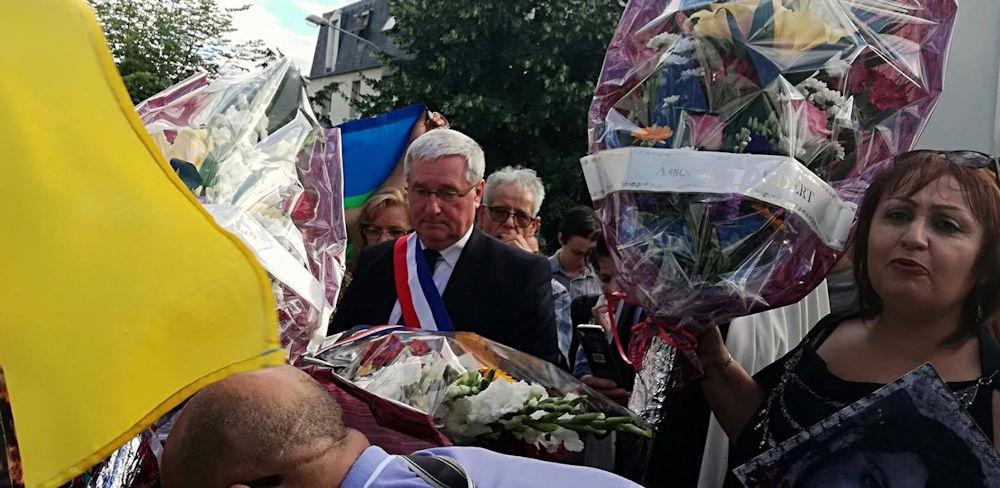 Pierrefitte-sur-Seine : Hommage à Matoub Lounes en présence du maire