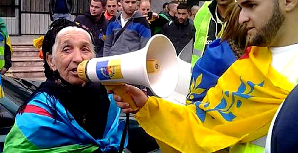 Nna Nouara, la doyenne des souverainistes kabyles, reçoit le «Prix de la Résistance Matoub Lounes»