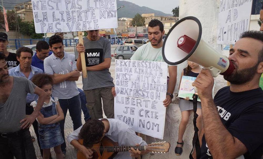 Yanis Adjlia : «j'ai été solidaire avec mon frère même si je ne fais pas partie du MAK»