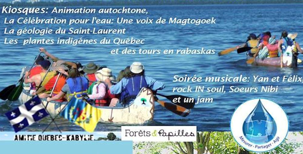 L'association Amitié Québec-Kabylie participe à «La Mission de Paix sur le fleuve Saint-Laurent»