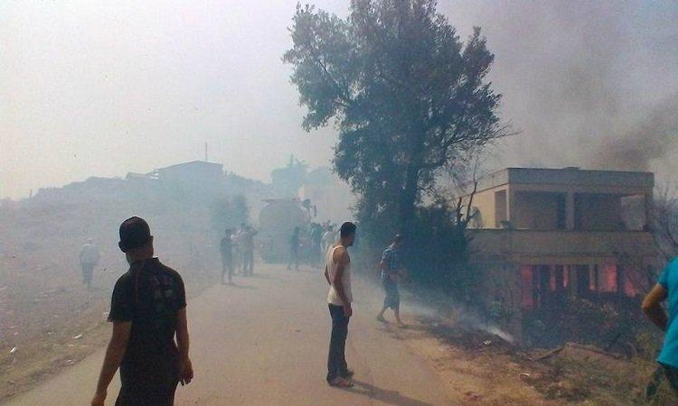 Ait Yahia Moussa sous les flammes des incendies criminels et meurtriers