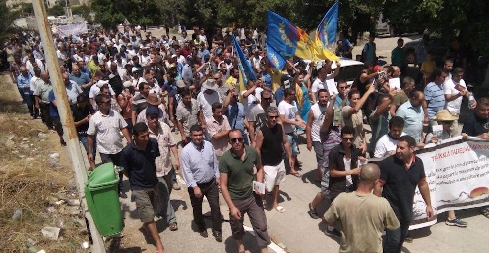 Marche grandiose à Aokas : La Kabylie veut son émancipation de la dictature algérienne