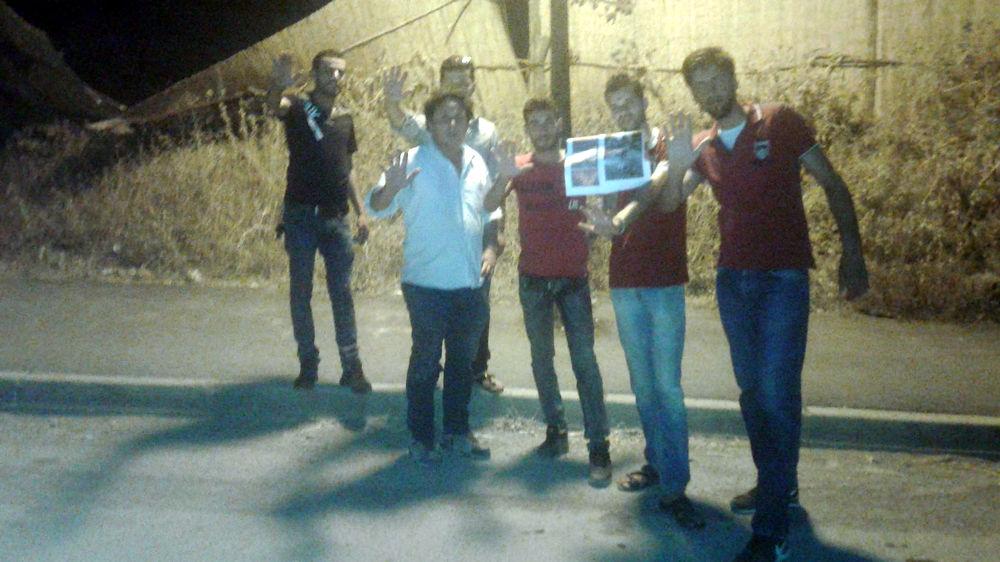Aide aux sinistrés : collecte de dons à At Jennad par la coordination locale du MAK-Anavad