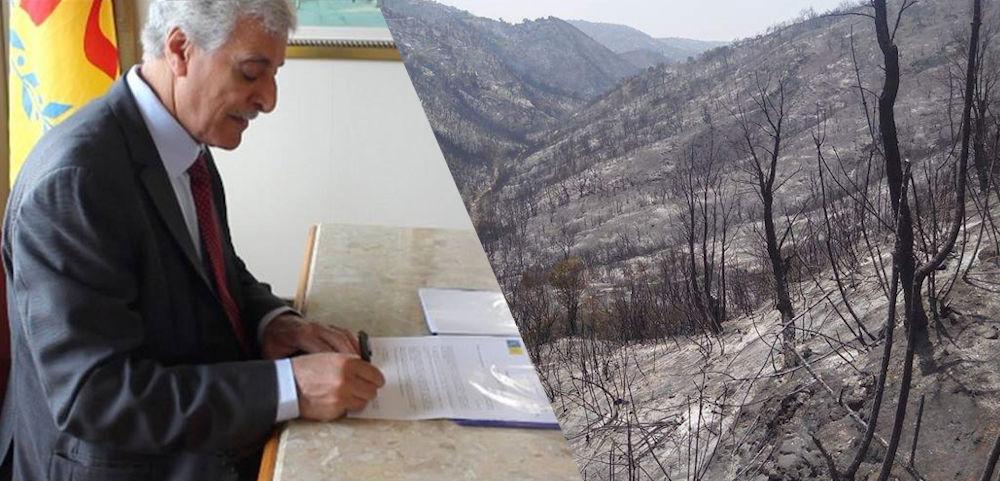 Décret GZM N° 2017/07/ASAN/01 portant proclamation de l'état de catastrophe écologique en Kabylie