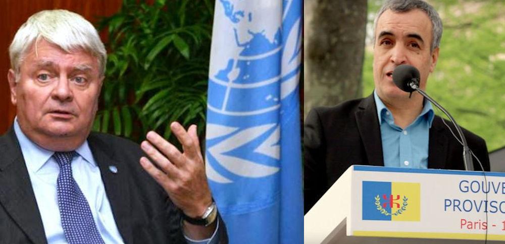 Rencontre entre le Représentant diplomatique de la Kabylie en France et un haut responsable de l'ONU