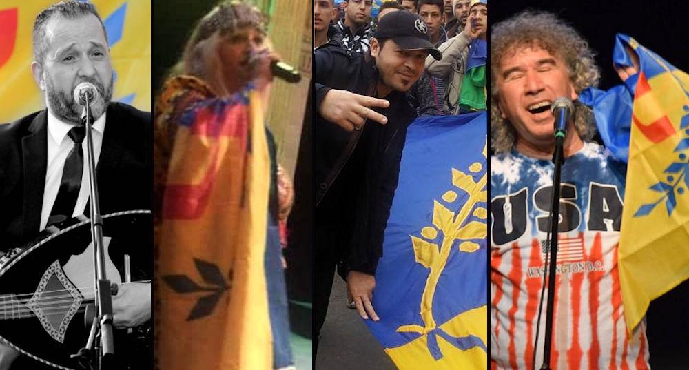Les chanteurs qui brandissent le drapeau kabyle sont dans le viseur des autorités coloniales