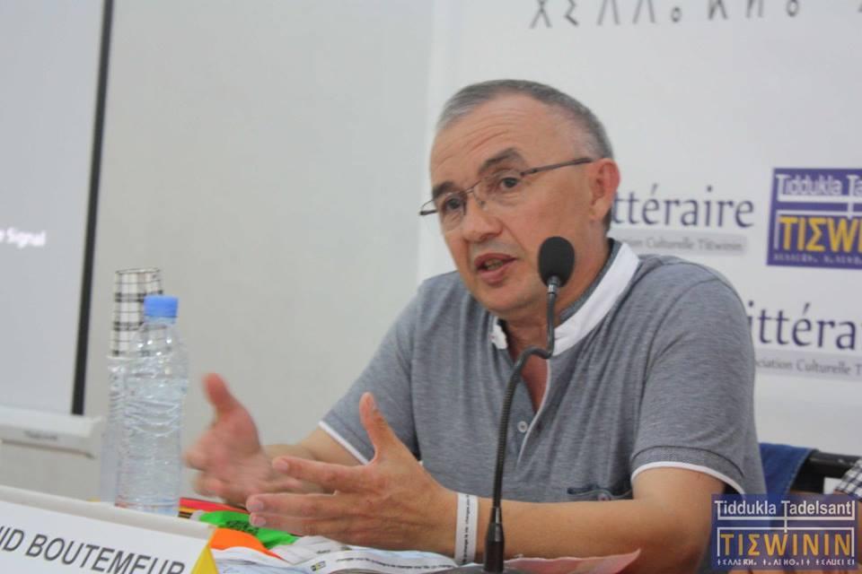 Madjid Boutemeur à Bouzeguene : «relevons le défi de l'intelligence»