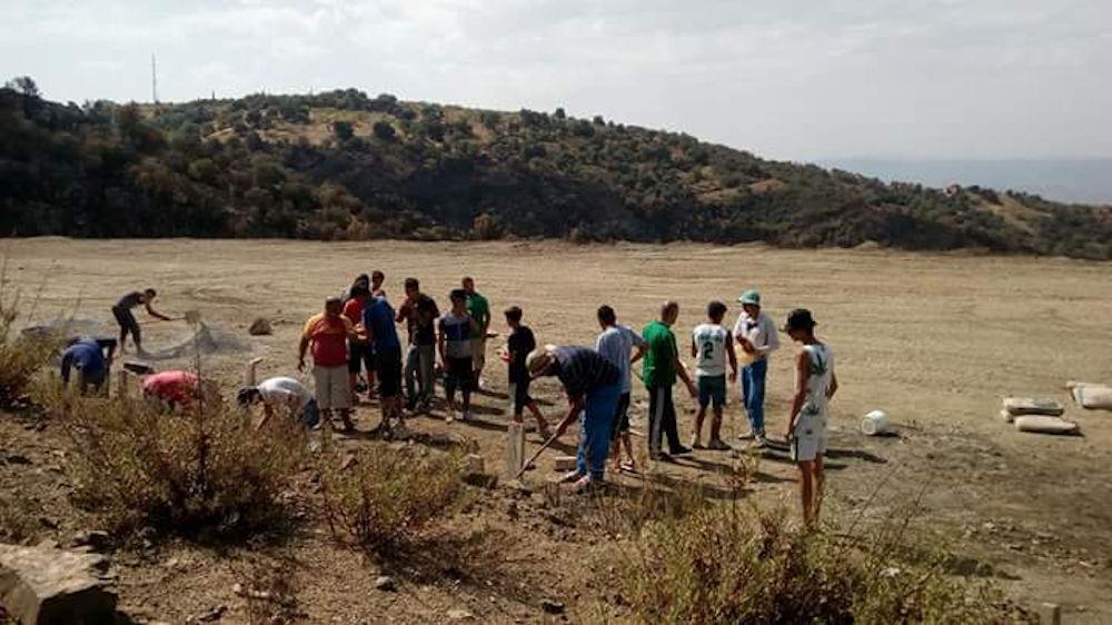 Saharidj : le stade d'Illitene réhabilité par les jeunes du village (déclaration)