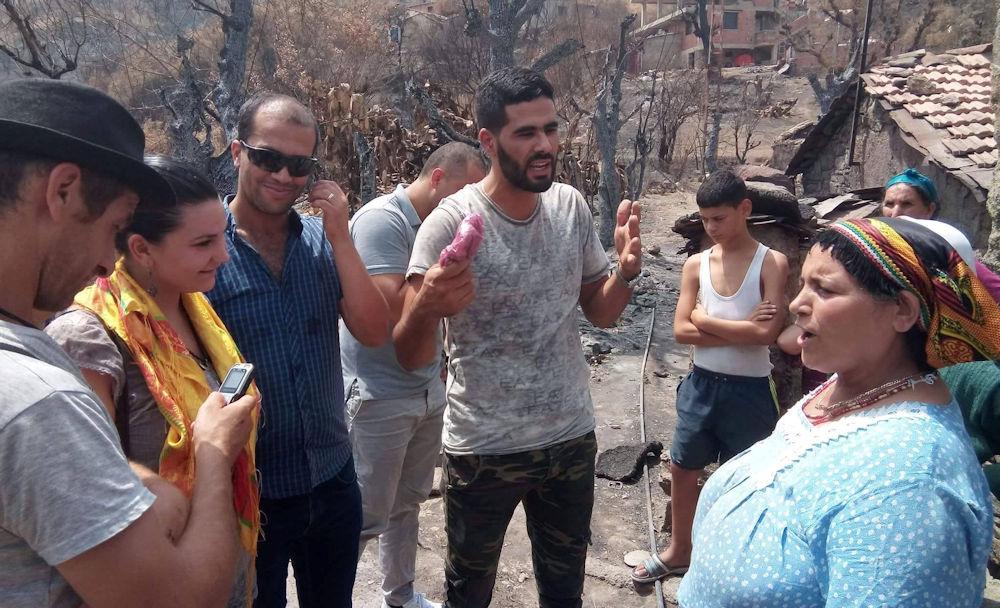 Incendies : une 1ère tranche des dons récoltés arrive aux sinistrés d'At Yahya Musa