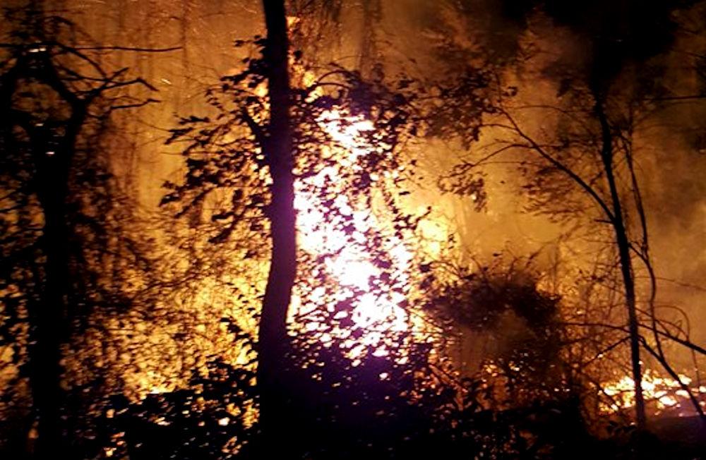Appel à l'aide : Le village de Tanalt (At Yettura) envahi par les flammes