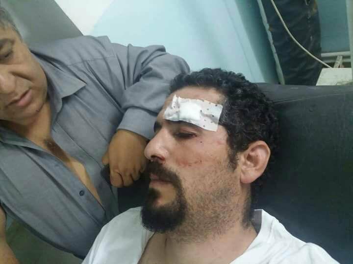 Le Dr. Racid At Ali Uqasi et Reda Amrani agresssés à Aqvu