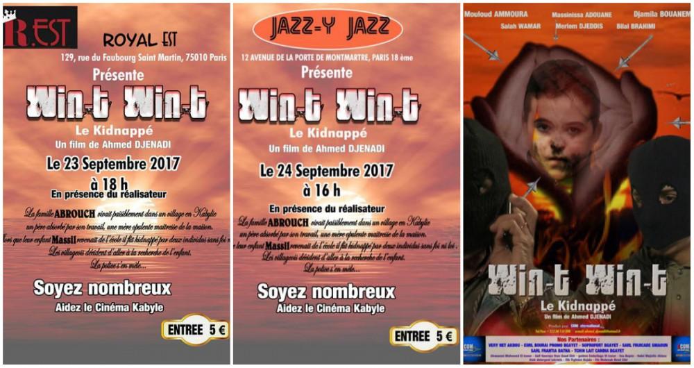 Cinéma kabyle : Projection de «Win-t Win-t» en avant-première à Paris