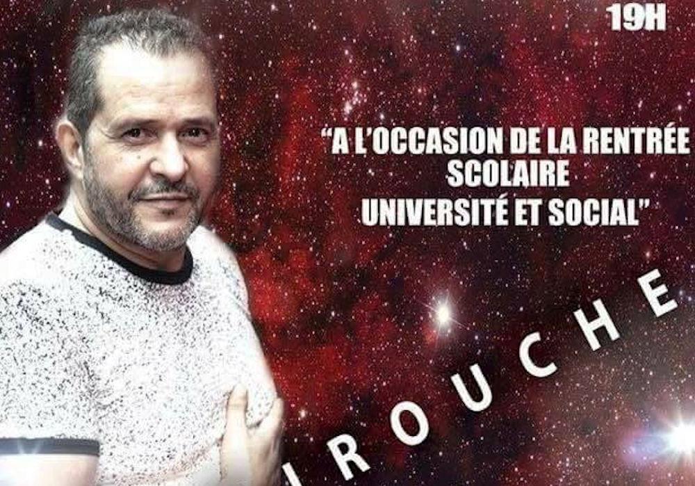 Amirouche est l'invité du Forum Kabyle de la Ville de Québec ce 23 septembre