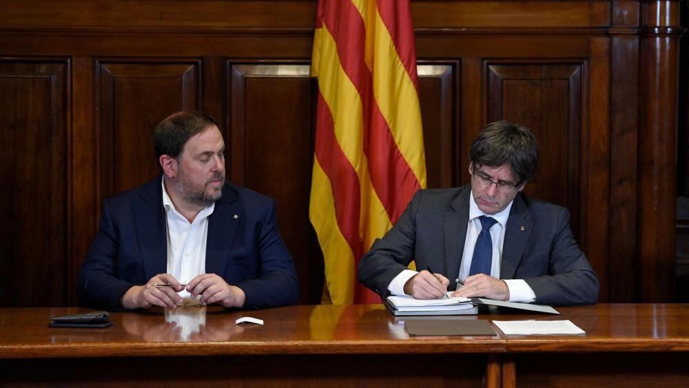 Catalogne : Référendum d'autodétermination pour le 1er octobre