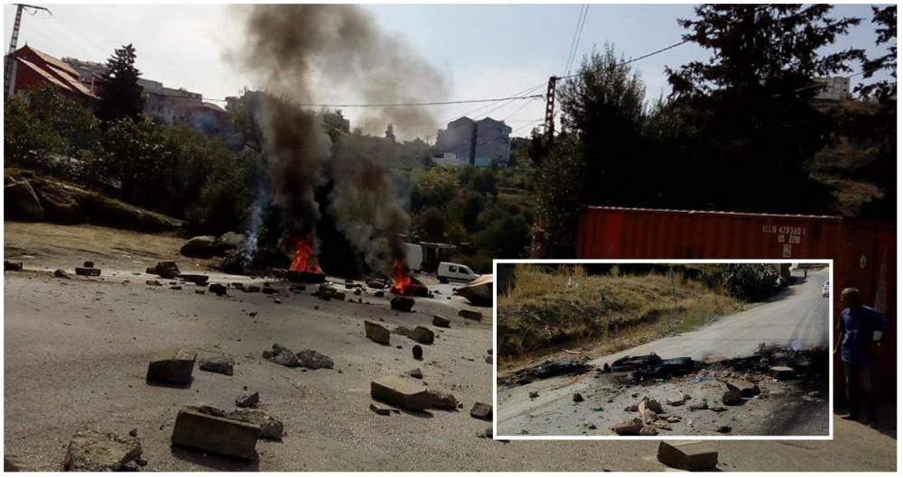 Attouche : Grève générale et route fermée ce jeudi matin