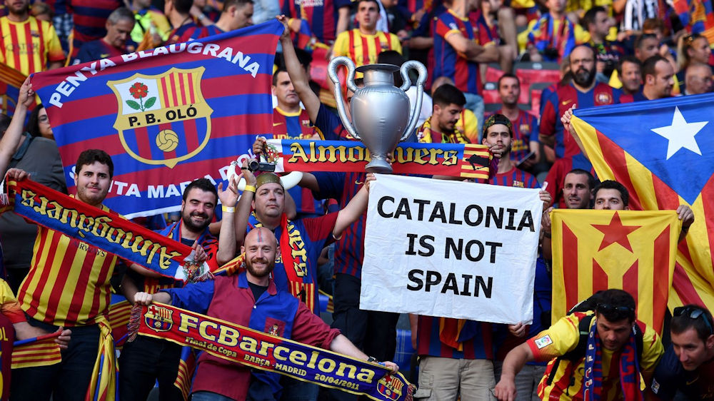 Le Barça condamne l'arrestation des dirigeants indépendantistes catalans