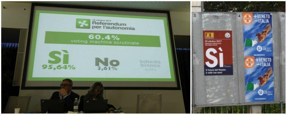 Référendums en Lombardie et en Vénétie : Large victoire du Oui pour moins d'Italie