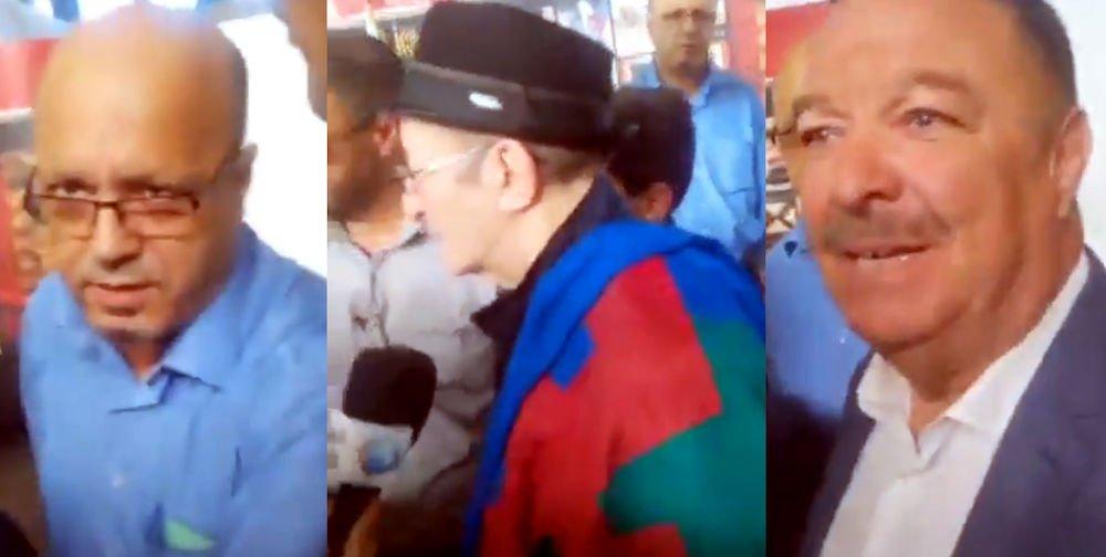 Le DG de l'ONDA enlève le drapeau berbère des épaules de Idir : «il ne faut pas abuser, Idir est venu pour rassembler»