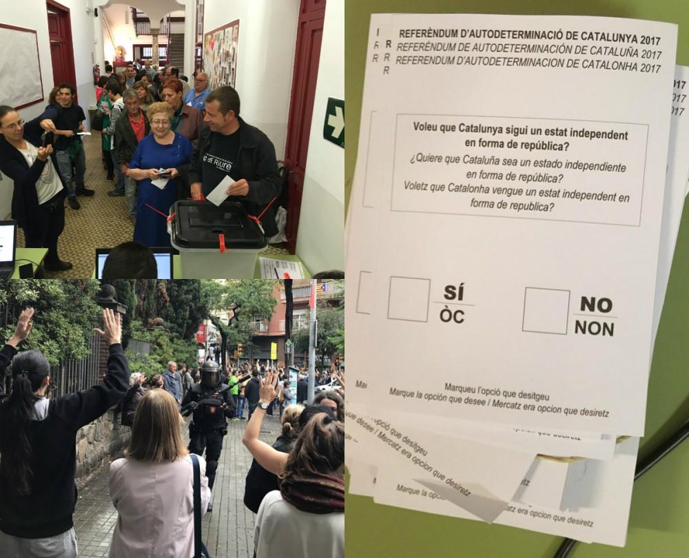 Référendum catalan : Suivez en temps réel le déroulé