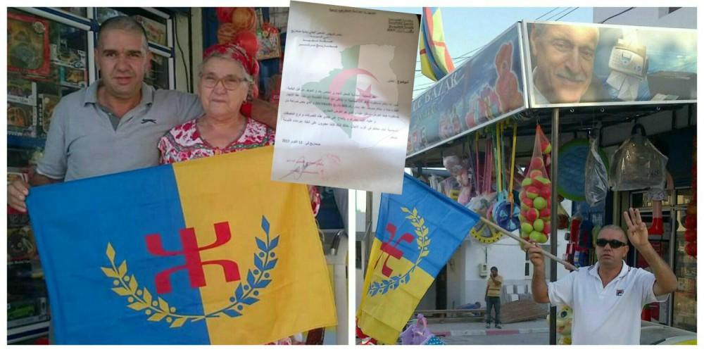 Portrait de Ferhat Mehenni : Les autorités algériennes menacent un commerçant kabyle