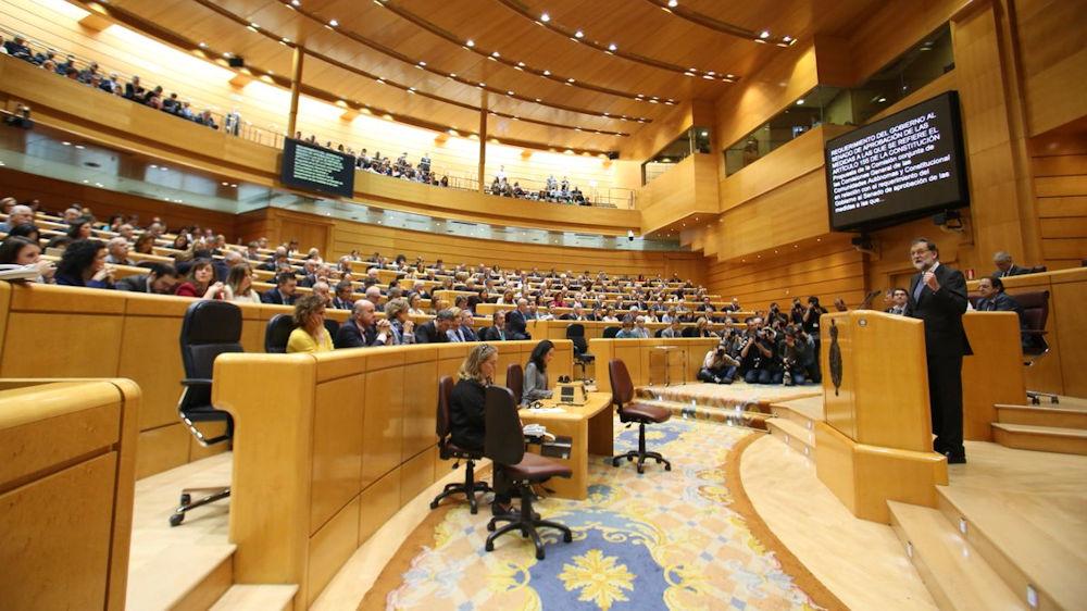 Le Sénat espagnol a autorisé l'occupation de la Catalogne via sa mise sous tutelle
