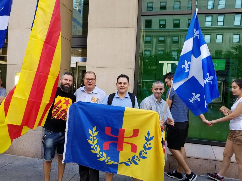 Québec : rassemblement de solidarité avec le peuple catalan