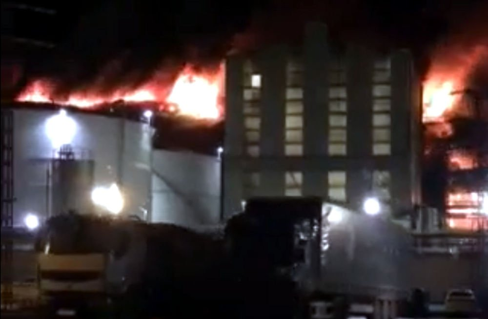 Une usine de Cevital frappée par un incendie ravageur : la deuxième en 3 ans