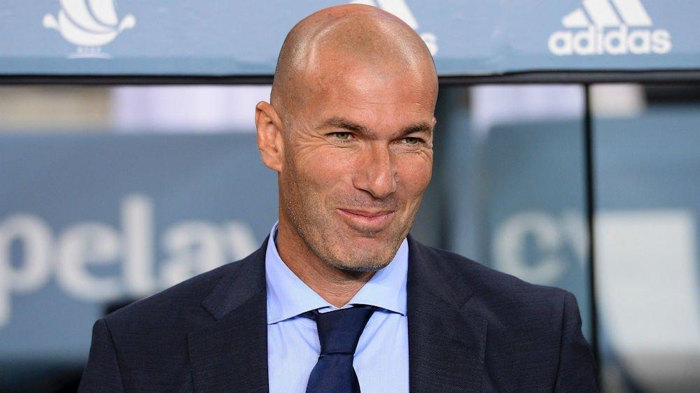 Zinedine Zidane élu meilleur entraîneur du monde !
