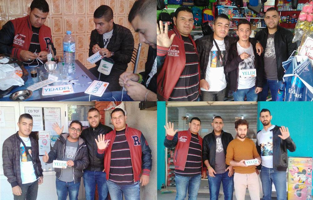 Tazmalt : première action auprès des commerçants pour sensibiliser contre l'arabisation des enseignes