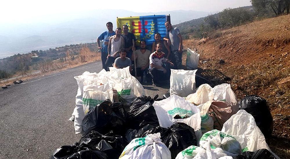 Ighil Guilef : Le récit d'une première mission écocitoyenne qui a séduit les villageois
