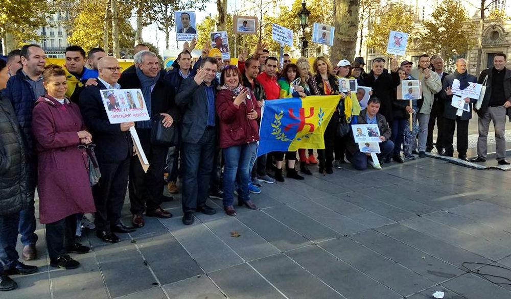 Communiqué du MAK-Anavad France suite au rassemblement de soutien aux détenus d'opinion