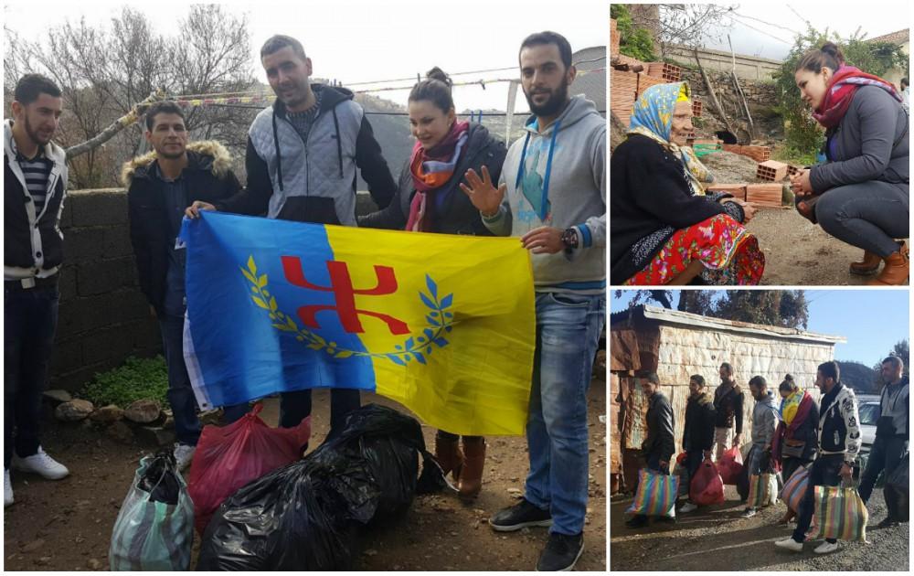 At Yahya Musa : Action humanitaire pour venir en aide aux sinistrés des feux de forêts
