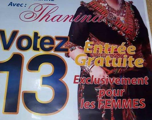 Scandale à Akbou : une liste aux élections municipales propose un gala dansant exclusivement pour les femmes
