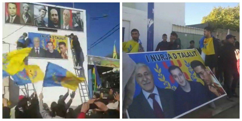 Grand rassemblement et démonstration de force du MAK-Anavad à Saharidj