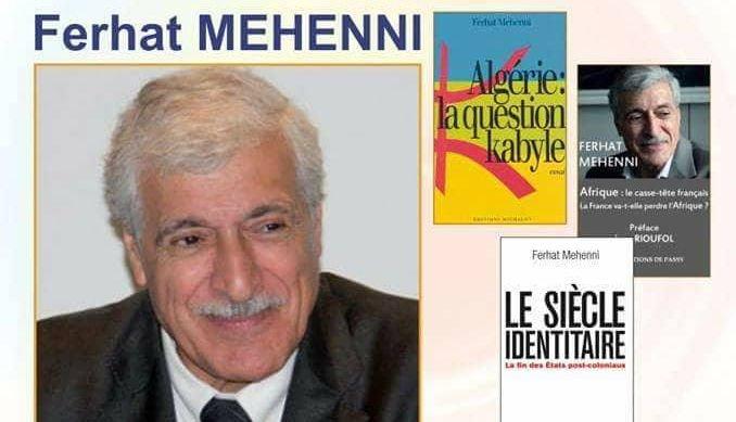 Ferhat Mehenni au café littéraire de l'impondérable ce 03 novembre