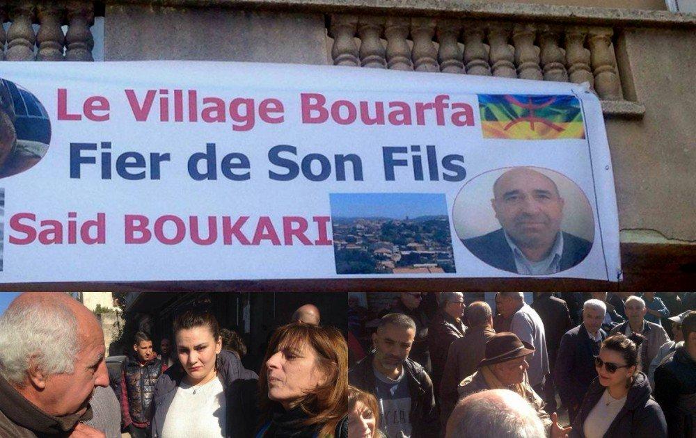 Les souverainistes accompagnent Said Boukhari à sa dernière demeure