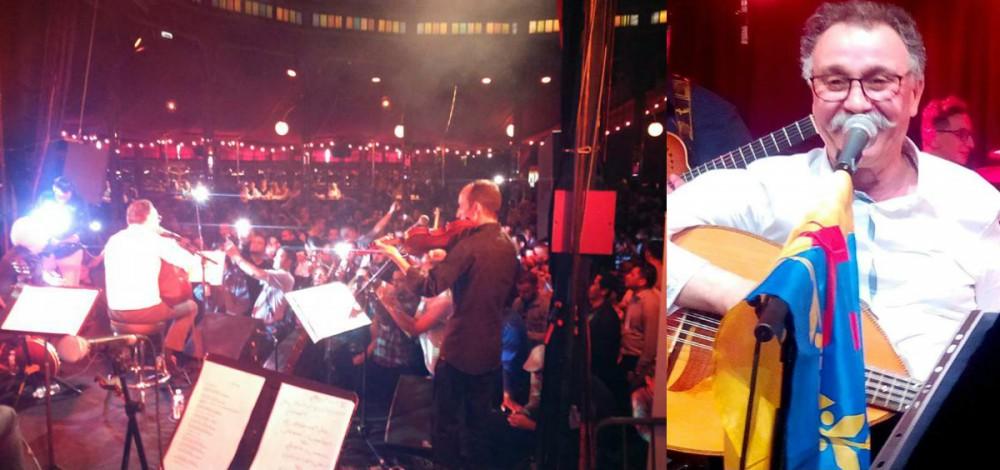Cherif Hamani en concert dimanche à Ivry-sur-Seine