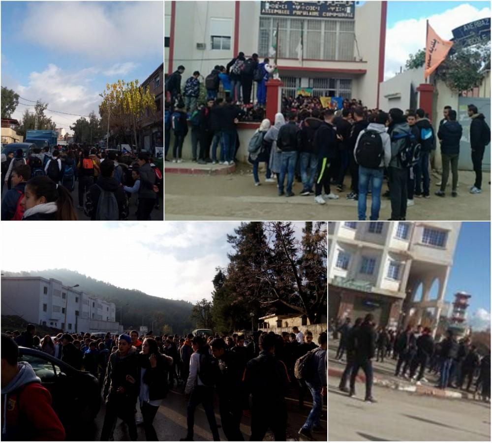 Couverture des marches de ce mercredi en Kabylie (Actualisé en temps réel)