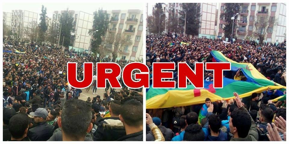 Alerte rouge : Plusieurs blessés du côté des étudiants à Tuvirett (Ex Bouira) suite à des attaques à l'arme blanche