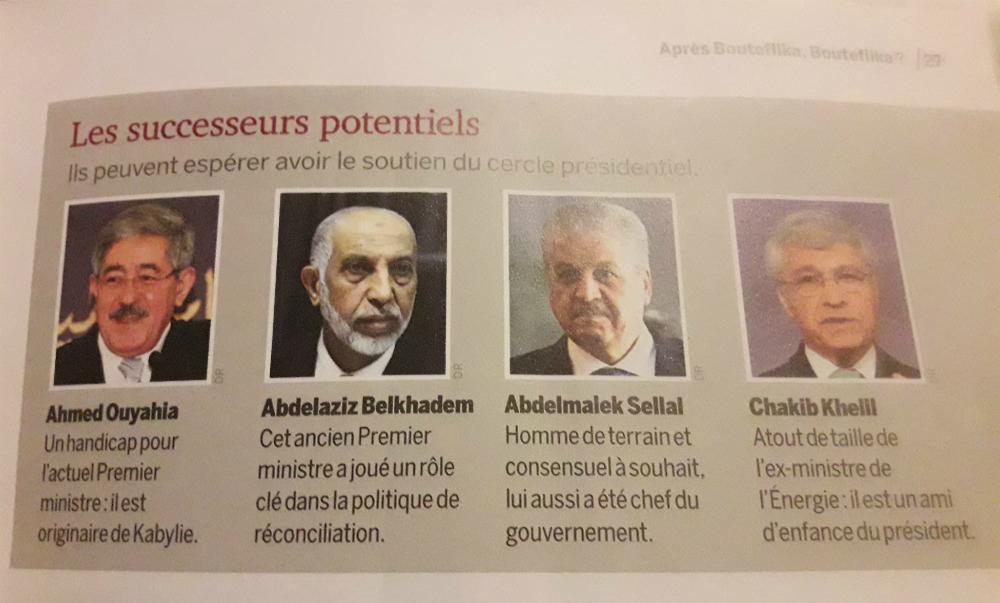 Ouyahia handicapé par ses origines kabyles (in La Revue)