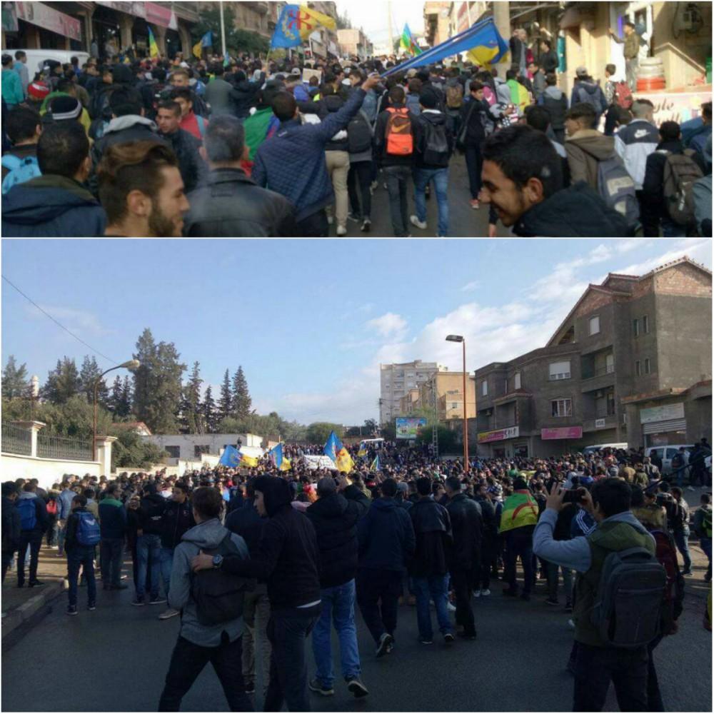 Marche monstre des lycéens à Aqvu aux cris de «Kabylie indépendante»