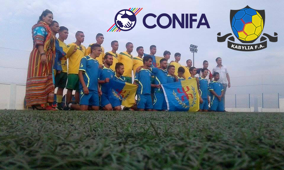 Equipe nationale kabyle de football : Tirage au sort de la Coupe du monde ConIFA le 06 janvier