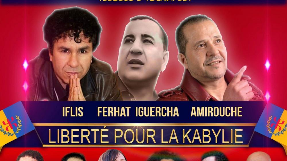 Meeting-Gala «Liberté pour la Kabylie» dimanche 17 décembre