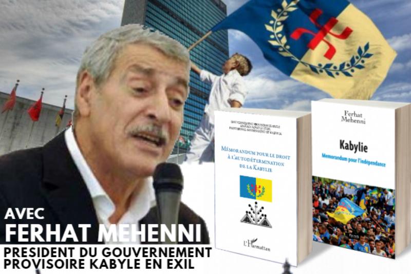 Lille : Conférence-débat de Ferhat Mehenni ce vendredi 08 décembre