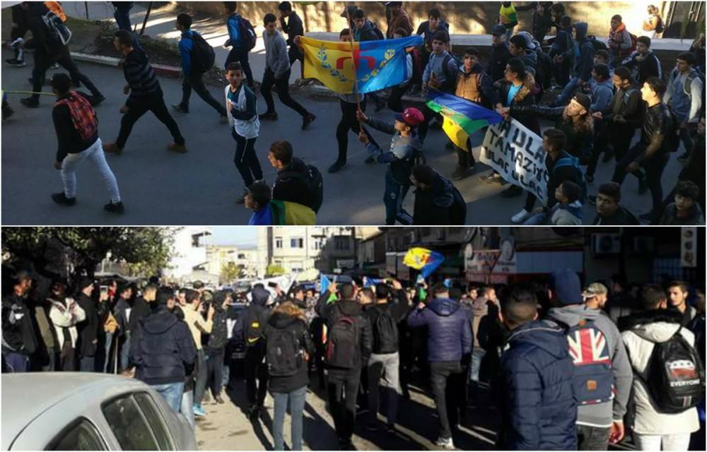 Nouvelles marches des lycéens de Kabylie ce jeudi matin (actualisé)