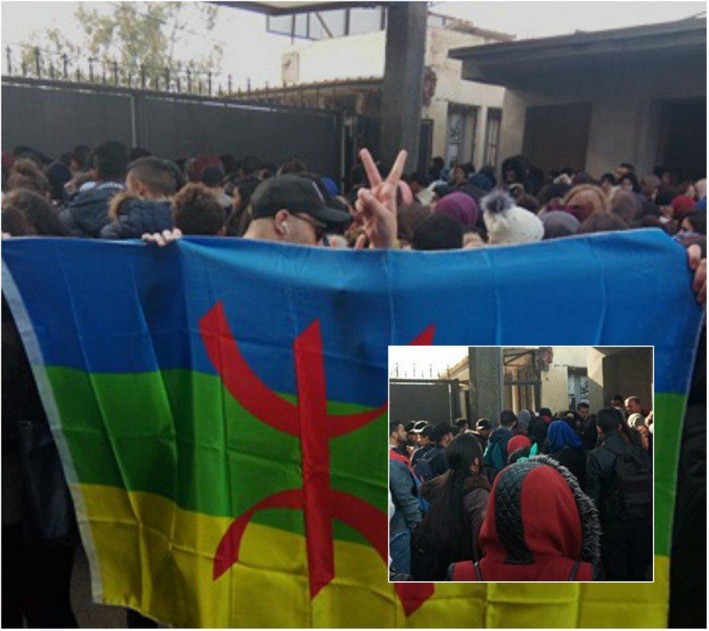 Les étudiants kabyles «parqués comme du bétail» à Beni Messous