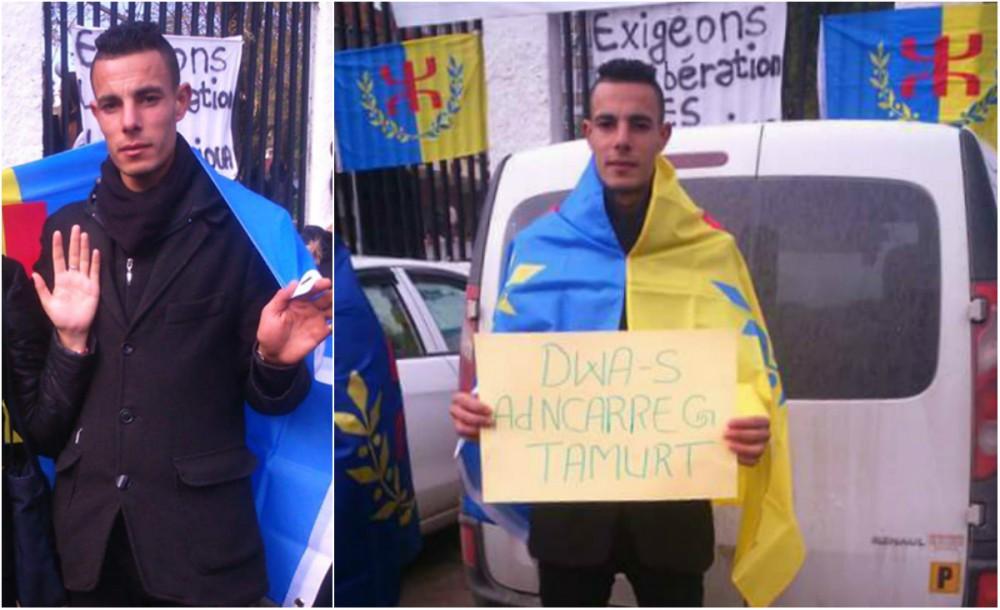 Alerte levée : le militant kabyle relâché par la police coloniale algérienne